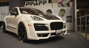This Porsche Cayenne Turbo is equipped with $80,000 in accessories, including upgraded wheels, tires and body parts, says Erik Morrison of Pfaff Tuning.