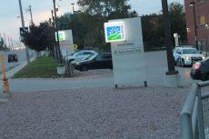 TSH entrance.