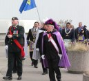 Freemasons and Knights of Columbus attend Remembrance Day ceremony at Scarborough Civic Centre.