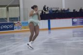 Lauren Barnett performing her Women's Single short program