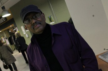 Archie Alleyne, Jazz Musician gives UTSC students and art lovers a quick history lesson