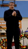 NDP MP Craig Scott speaks at the event.