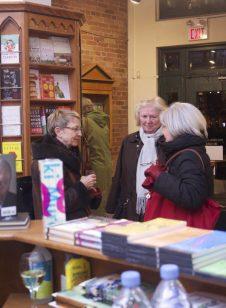 Customers at the Toronto Nicholas Hoare bookstore, November, 2012.