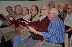 members of the singing pilgrim seen in song