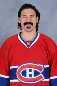 George Parros suffered a concussion when he slipped and fell during a fight on opening night of the 2013 NHL season. Photo: Montreal Canadiens