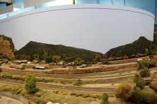 The Scarborough Model Railroaders Club has two different rail layouts. According to the club's website, the HO scale layout models the 1950s steam-to-diesel transition era in southern Ontario. The N scale layout is based in the modern era in Appalachia.