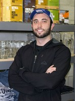 Zack Weinberg, torontobrewing.ca owner.  His retail shop sells home brew equipment, accessories, and ingredients.