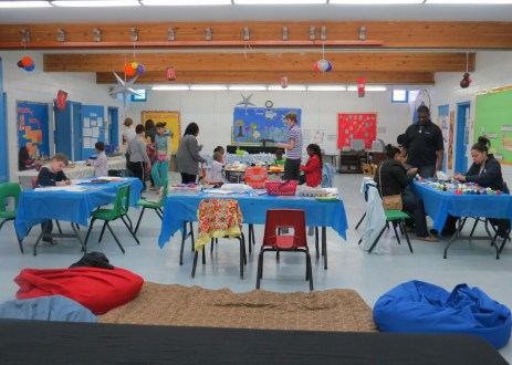 Full view of activity room.