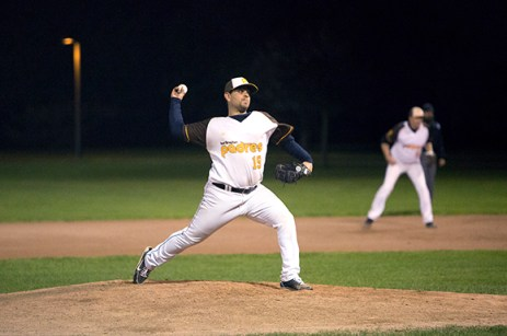 Padres starter John Mariotti only surrendered two earned runs, but earned the loss in game one of the series.