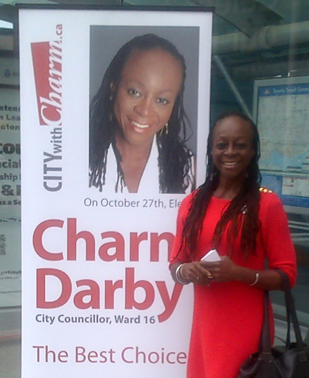 Charm Darby is contesting Ward ...