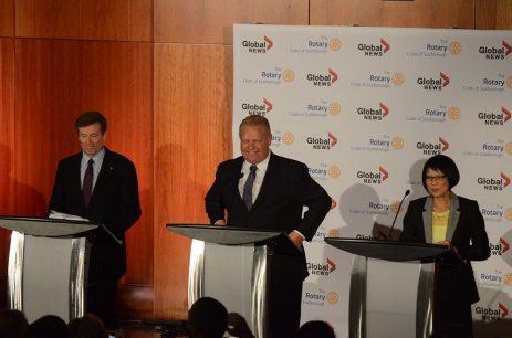 Toronto's front running candidates at UTSC's Mayoral debate