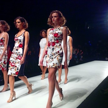 Floral dresses by Rachel Sin offer modern, wearable styles for women this spring.