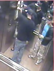 Security images of suspects wanted in break-and-enter investigation