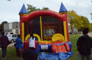 Bouncy castle at the Don Mills Street Festival.