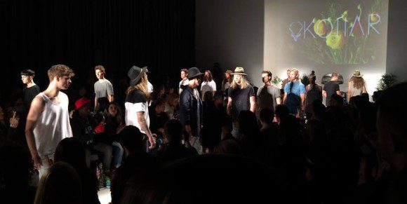 Kollar Clothing's fashion show on Oct. 23 at Toronto Fashion Week 2015.