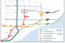 The new plan includes 17-stop extension of the Eglinton Crosstown, ending at the University of Toronto Scarborough Campus.