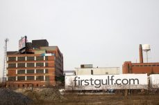 The location, just east of the Gardiner-DVP ramp and south of Eastern Avenue, was purchased by First Gulf Corp in 2012.