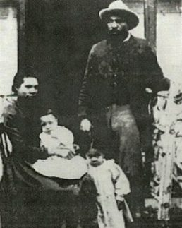 John Ware (Texas Cowboy) and his pioneering family in Alberta