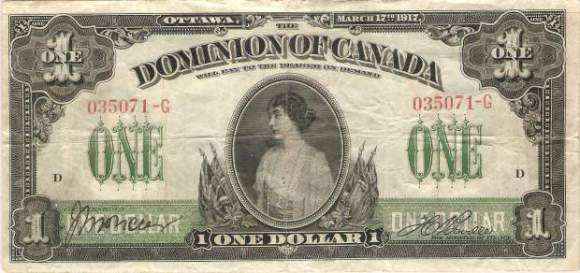 Princess Patricia: First woman to be on Canadian currency.
