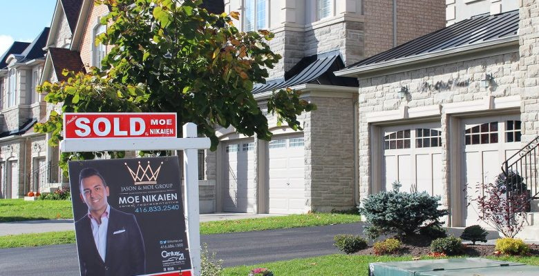 House sold before new mortgage rules changes came into effect Oct. 17.