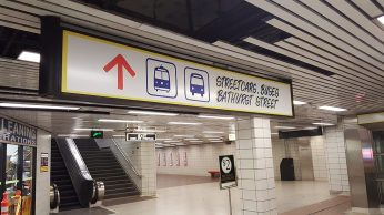 Streetcars sign