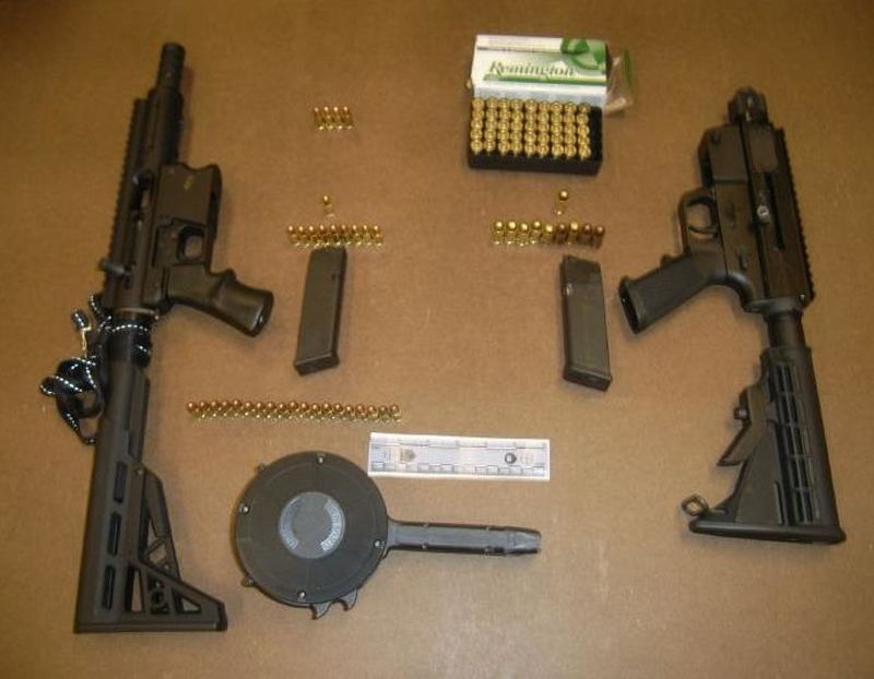 Firearm charges for possession of weapons and ammunition