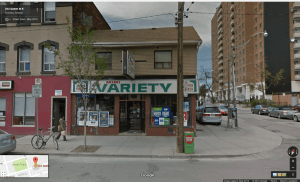 On Google Map's street view, the old sign for Mimi Variety is still shown.