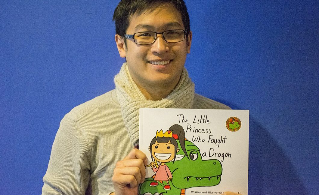 Self-published author Jeffrey Li