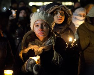Vigil for Quebec City shooting victims
