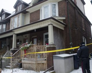 Police investigate east end shooting.