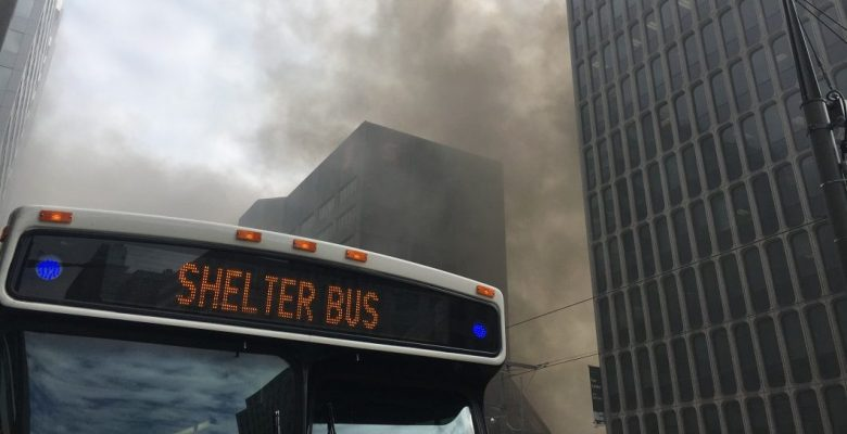 Shelter Bus TTC