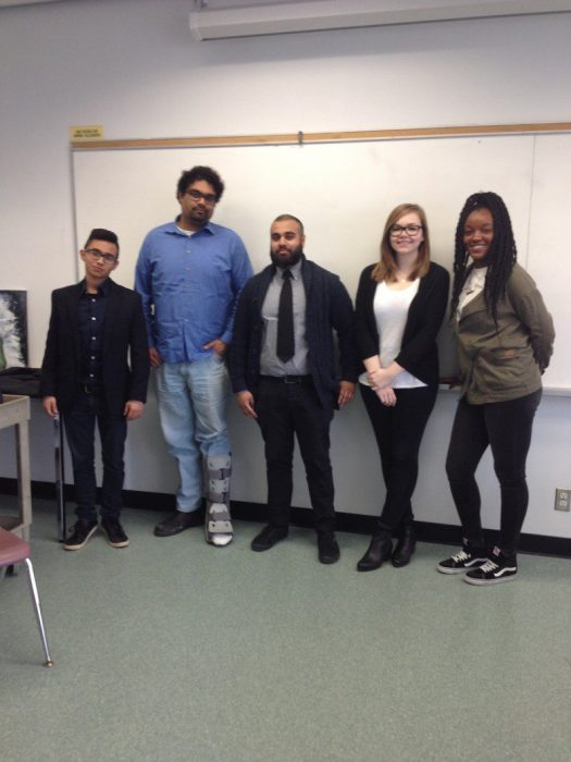 Students at Centennial College