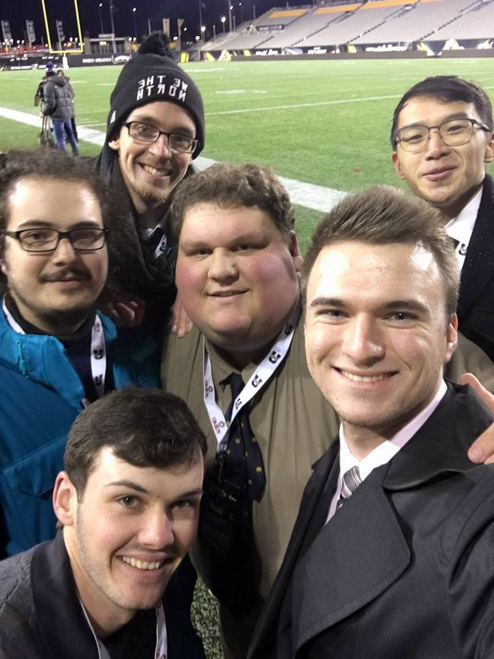 Observer reporters at the Vanier Cup