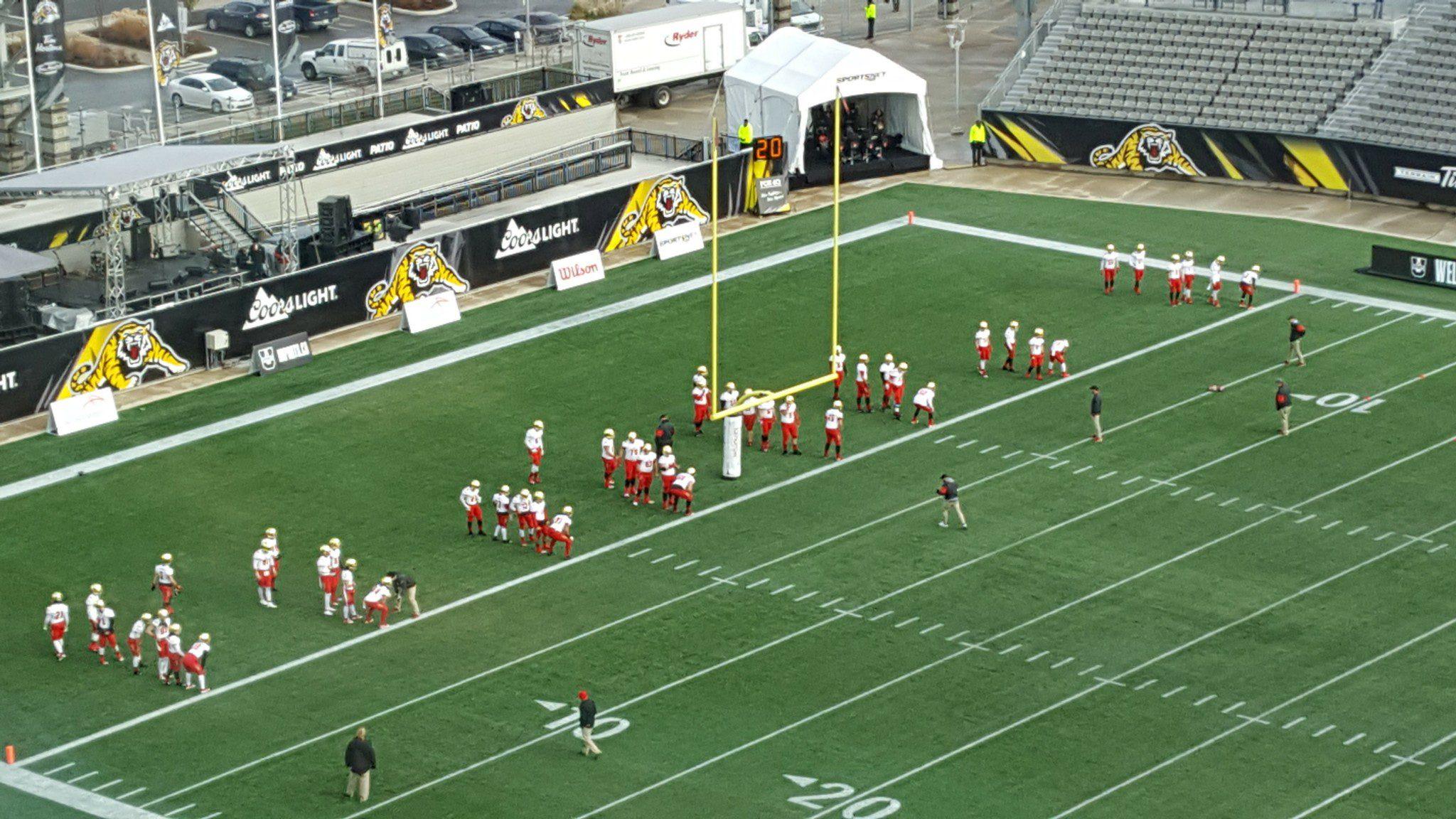 Laval's pregame warmup