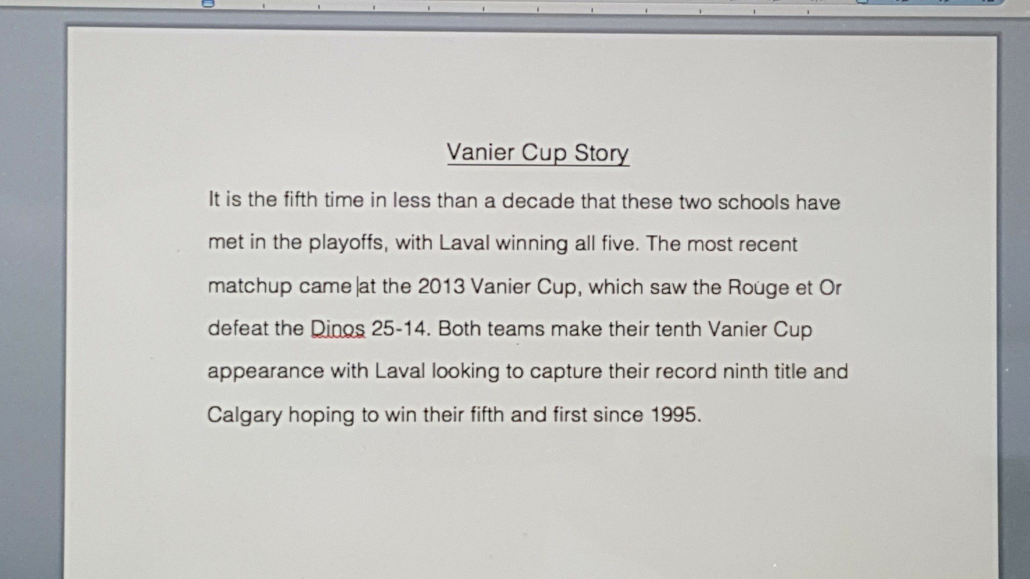 Observer story script