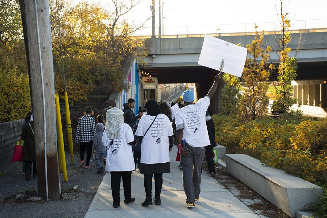 Peace Walk particpants