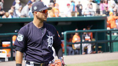 Detroit Tigers shortstop Jose Iglesias