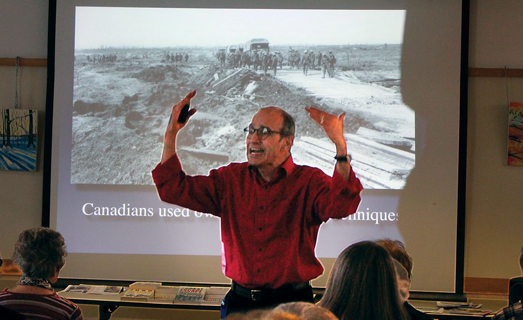 Vimy Ridge talk by Ted Barris