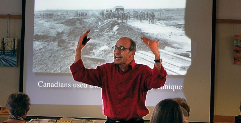 Vimy Ridge talk by Ted Barris