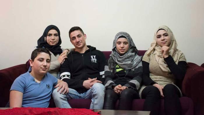 Gazal, Mohamed, Zoulfa, Rama and Ahmad Alkak