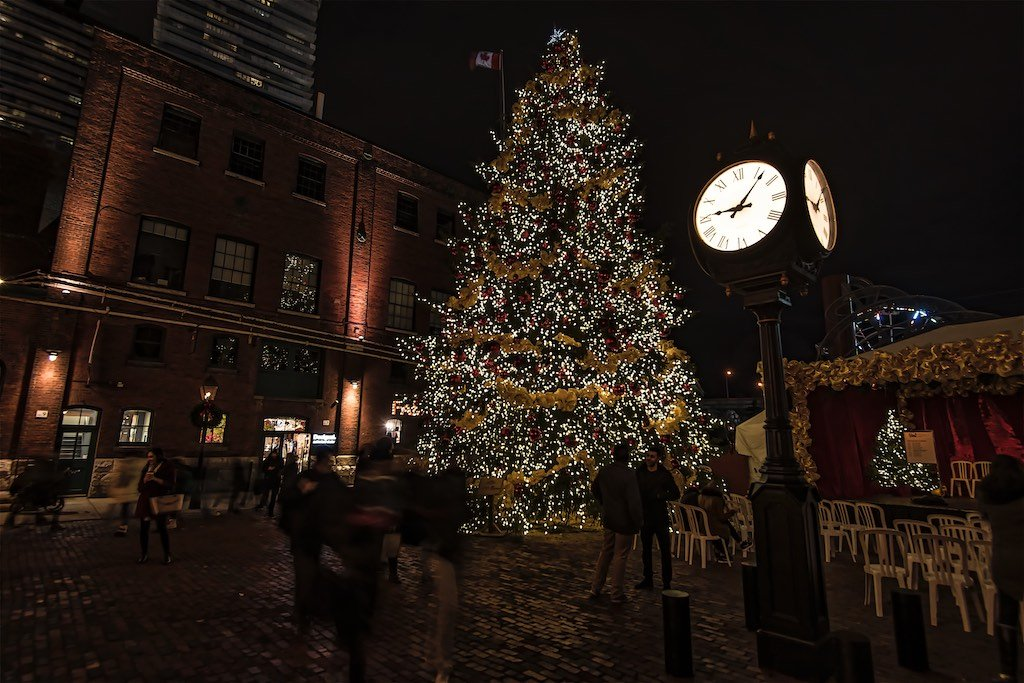 Toronto Distillery District Christmas
