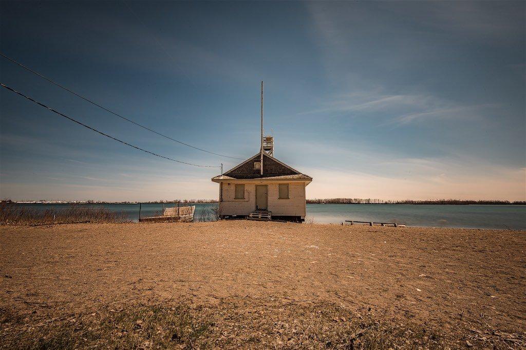 Boathouse Toronto Lake Ontario