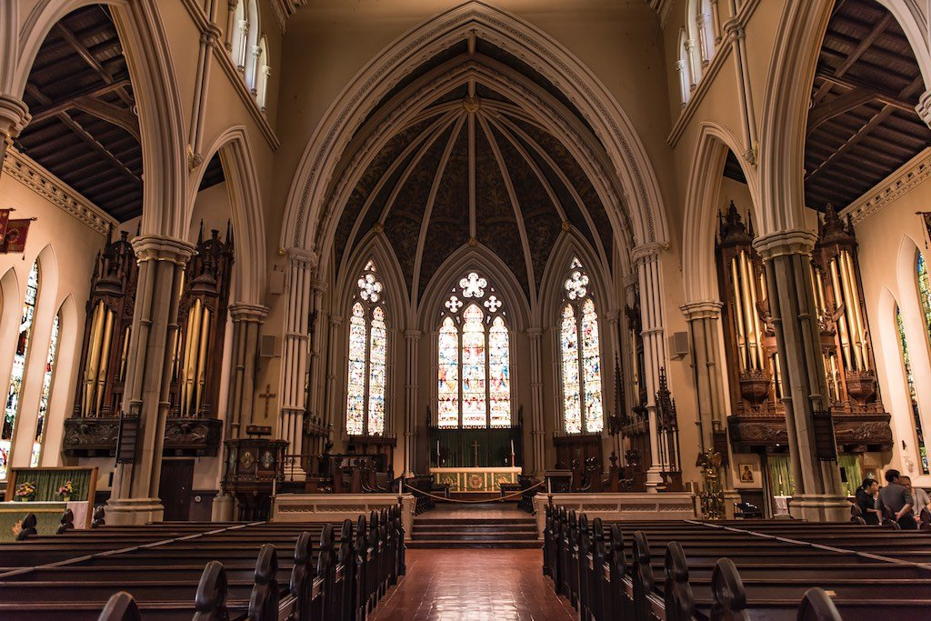 Interior of St. James Cathedral