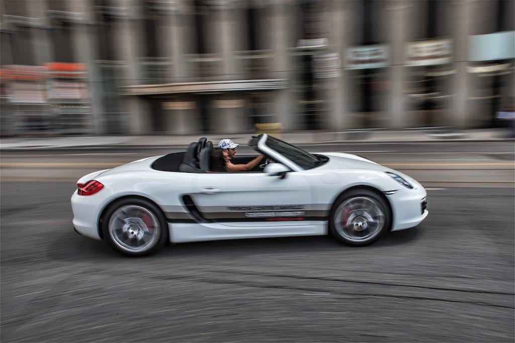 Porsche Panning Shot