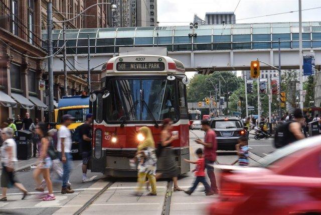 Queen & Yonge Street, Toronto