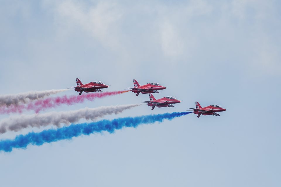 Red Arrows Royal Air Force