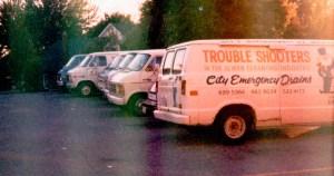 First Plumbing trucks - your local plumber