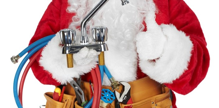 Plumbing tips for the holidays