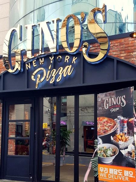 Gino's Pizza Gangnam Apgujeong Seoul Food Toronto Seoulcialite Menu Review
