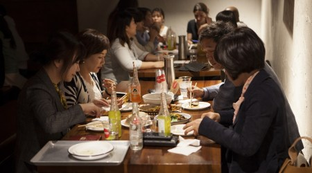 HOMEBOY Seoul Pop-Up Itaewon Vatos Urban Collective Food Event Toronto Seoulcialite People at Restaurant
